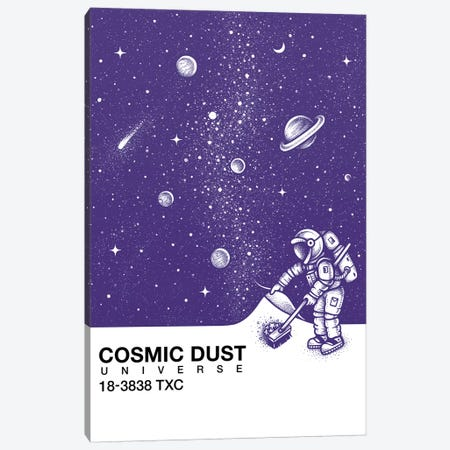 Cosmic Dust Canvas Print #EDI10} by Enkel Dika Canvas Wall Art