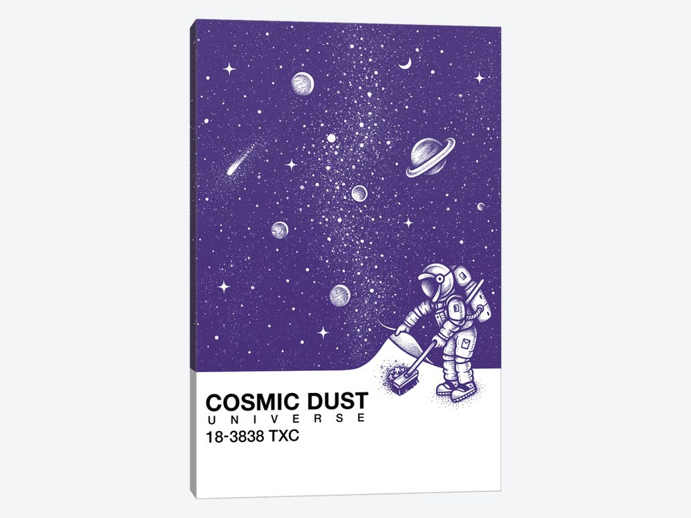 Cosmic Dust by Enkel Dika 1-piece Canvas Art Print