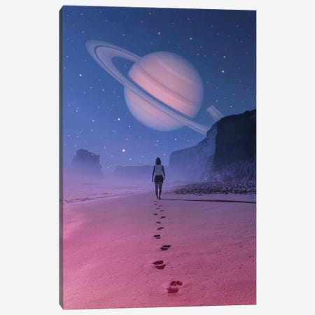 Glimpse Of A Dream Canvas Print #EDI15} by Enkel Dika Art Print