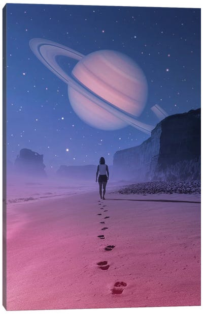 Glimpse Of A Dream Canvas Art Print