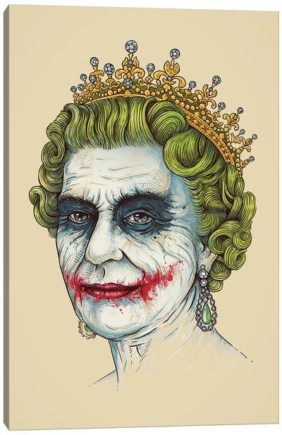 God Save The Villain Canvas Art Print