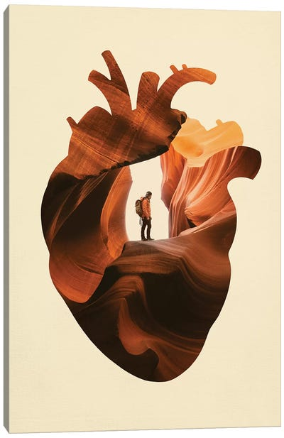 Heart Explorer Canvas Art Print