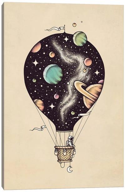 Interstellar Journey Canvas Art Print