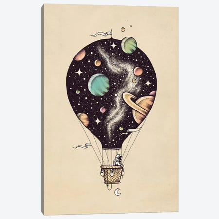 Interstellar Journey Canvas Print #EDI21} by Enkel Dika Canvas Print