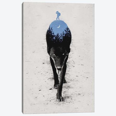 Into The Forest Canvas Print #EDI22} by Enkel Dika Canvas Art Print