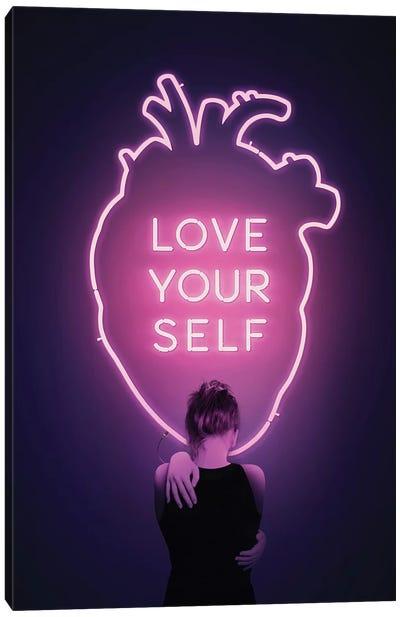 Love Yourself Canvas Art Print