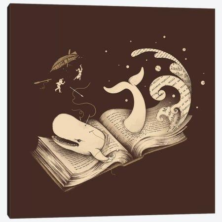 Moby Canvas Print #EDI35} by Enkel Dika Art Print
