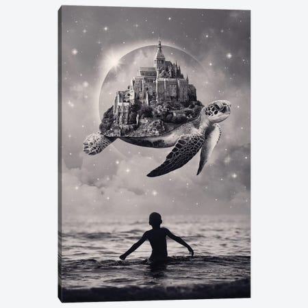 Moments Of Bliss Canvas Print #EDI37} by Enkel Dika Canvas Print