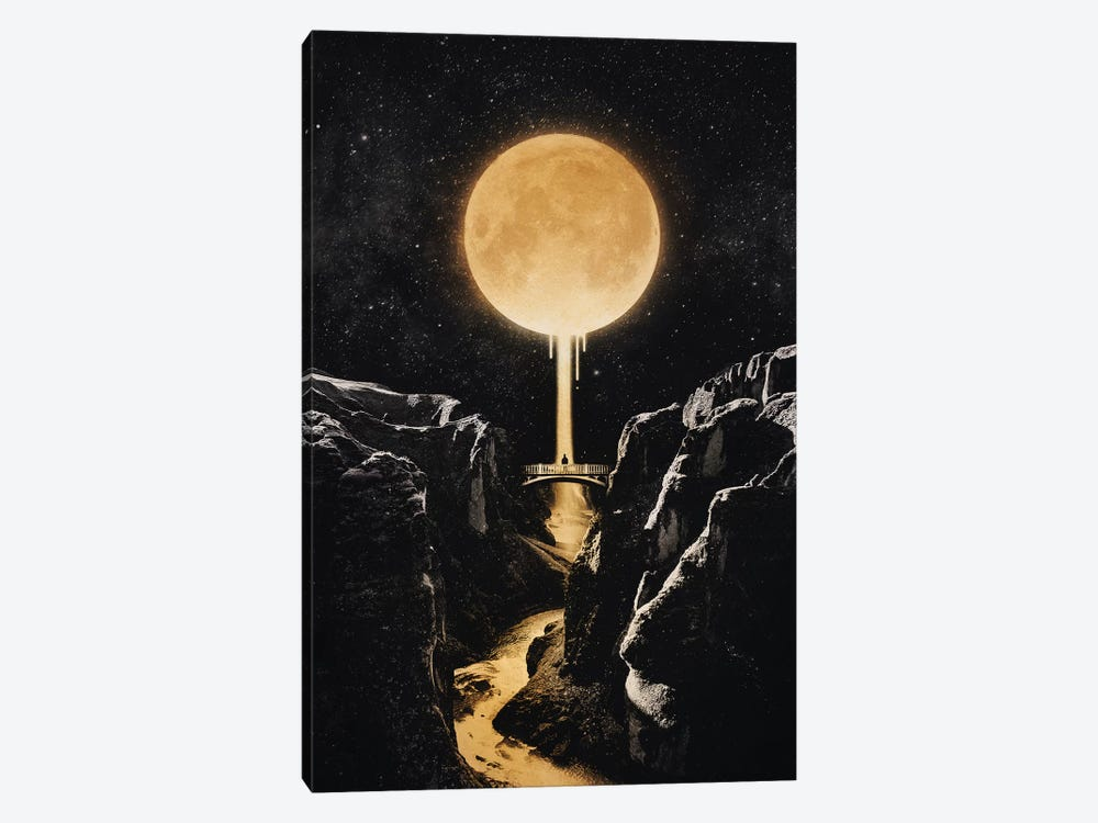Moonlit by Enkel Dika 1-piece Canvas Art Print