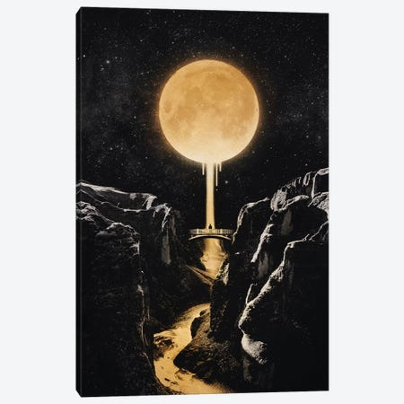 Moonlit Canvas Print #EDI41} by Enkel Dika Canvas Print