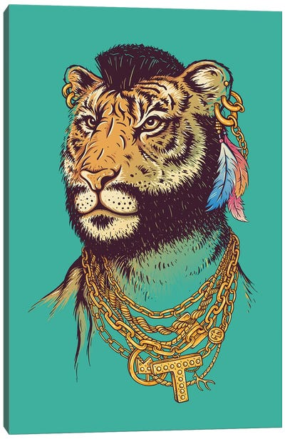 Mr T (Iger) Canvas Art Print