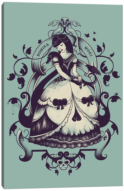 Mrs Death Canvas Art Print