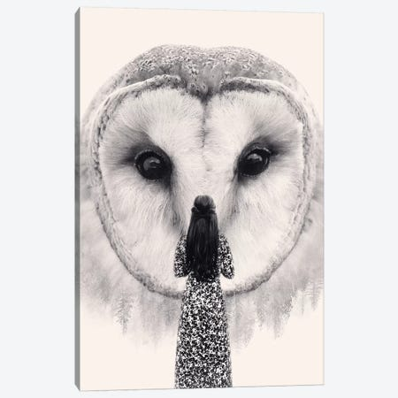 Nocturnal Friend Canvas Print #EDI45} by Enkel Dika Canvas Art