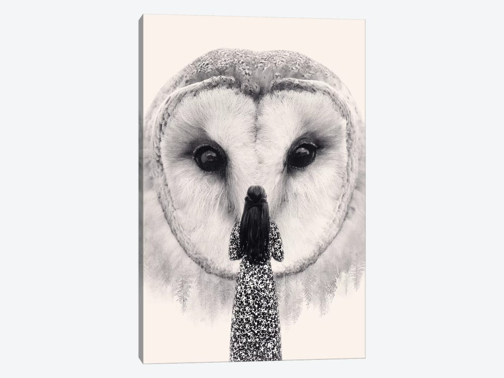 Nocturnal Friend by Enkel Dika 1-piece Art Print