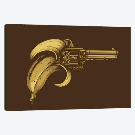 Banana Gun Canvas Print #EDI4} by Enkel Dika Canvas Art Print