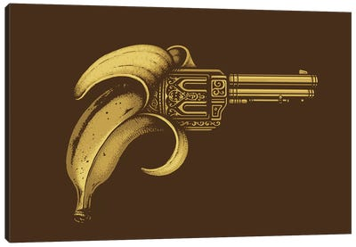 Banana Gun Canvas Art Print