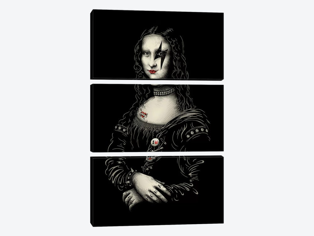 Renaissance Rocks 3-piece Art Print