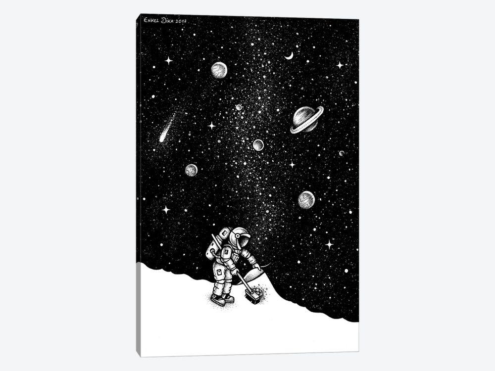 Space Dust by Enkel Dika 1-piece Canvas Artwork
