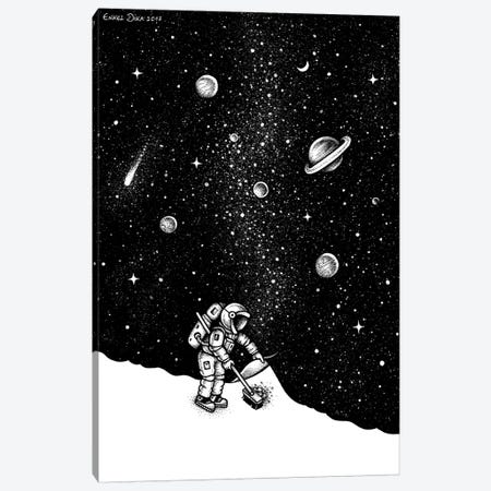 Space Dust Canvas Print #EDI51} by Enkel Dika Canvas Wall Art