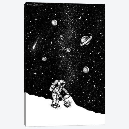 Space Dust Canvas Print #EDI51} by Enkel Dika Canvas Wall Art