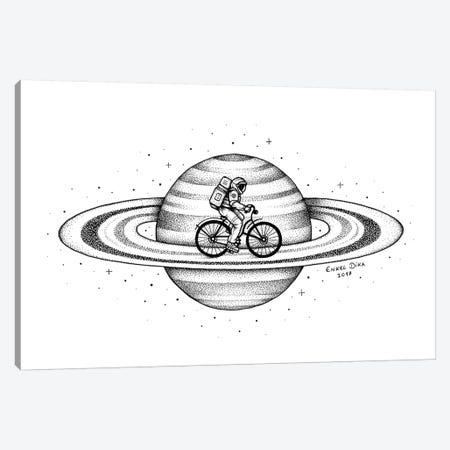 Space Ride I Canvas Print #EDI53} by Enkel Dika Canvas Art