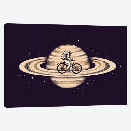 Space Ride II Canvas Print #EDI54} by Enkel Dika Canvas Art Print