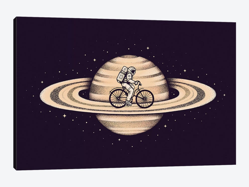 Space Ride II by Enkel Dika 1-piece Canvas Print