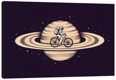 Space Ride II Canvas Art Print