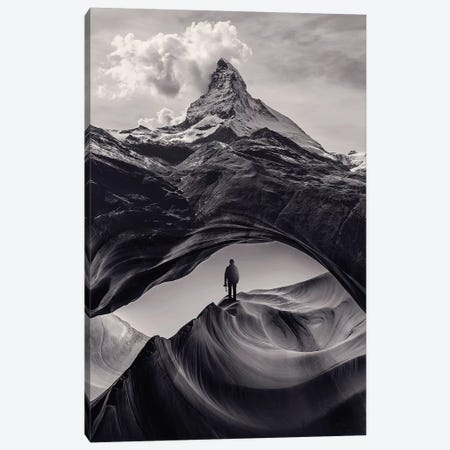 The Great Outdoors I Canvas Print #EDI59} by Enkel Dika Canvas Art