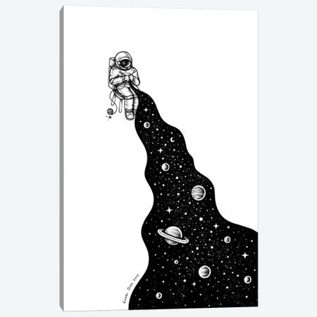 Universe Is Knit Canvas Print #EDI64} by Enkel Dika Canvas Art