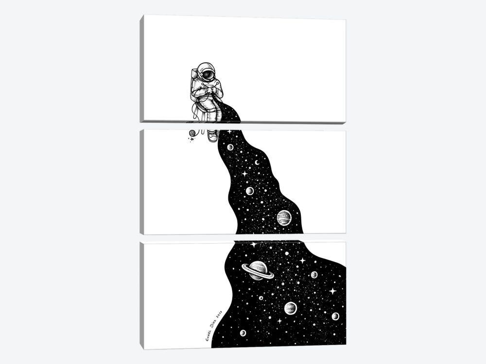 Universe Is Knit by Enkel Dika 3-piece Canvas Wall Art