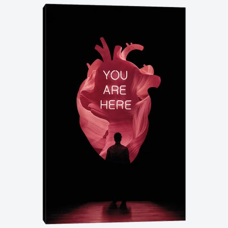 You Are Here Canvas Print #EDI67} by Enkel Dika Canvas Wall Art