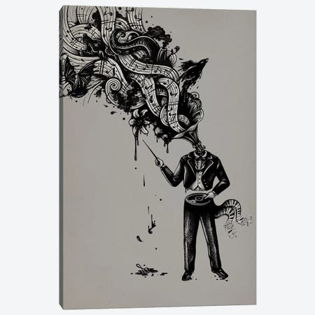 Cacophony Canvas Print #EDI6} by Enkel Dika Canvas Art Print