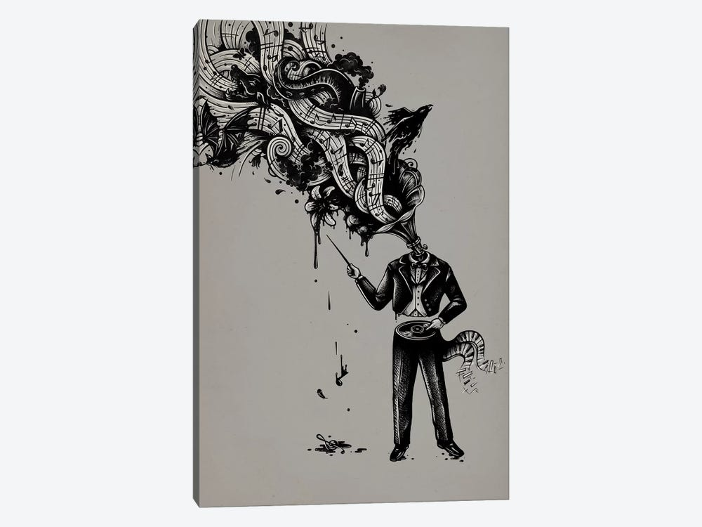 Cacophony 1-piece Canvas Art Print