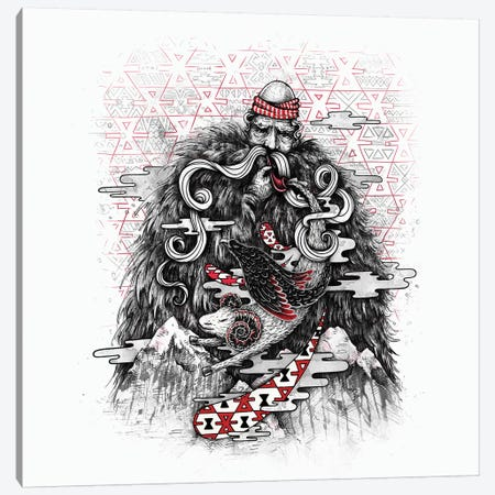 Call Of Tradition Canvas Print #EDI7} by Enkel Dika Art Print