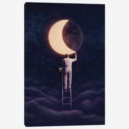 Carpe Noctem Canvas Print #EDI9} by Enkel Dika Canvas Art
