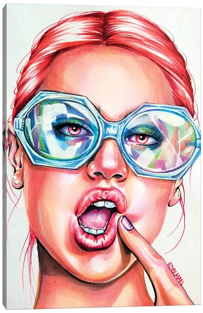 Glasses Canvas Art Print