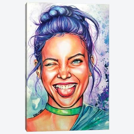 Have Fun Canvas Print #EDL15} by Kelly Edelman Canvas Wall Art