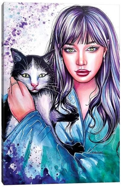 Kitten Canvas Art Print