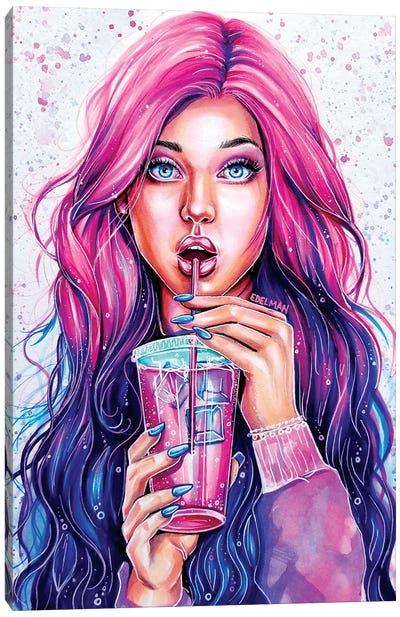 Lemonaid Canvas Art Print