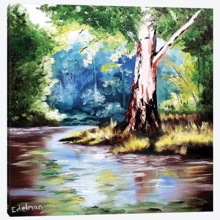 Lone Tree Canvas Print #EDL22} by Kelly Edelman Canvas Art