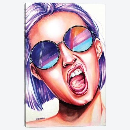 Mood 3-Piece Canvas #EDL23} by Kelly Edelman Canvas Artwork