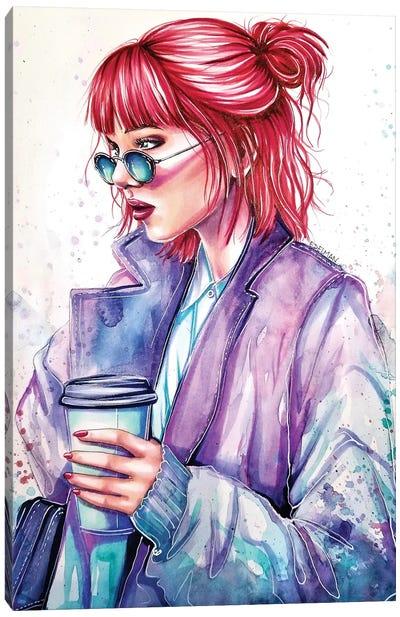 Morning Coffee Canvas Art Print