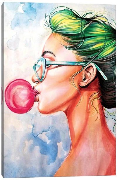 Bubble Gum Canvas Art Print