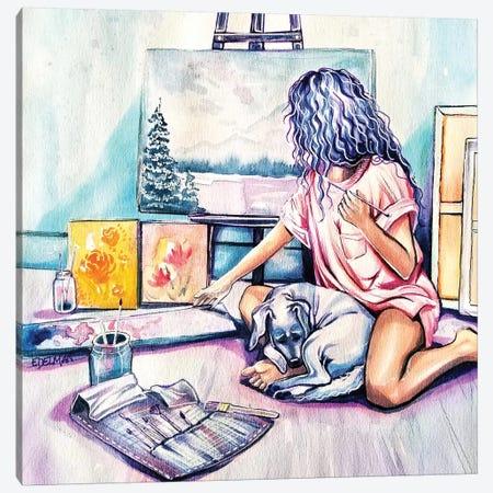 Painter Canvas Print #EDL31} by Kelly Edelman Canvas Print