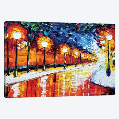 Path Canvas Print #EDL32} by Kelly Edelman Canvas Art Print