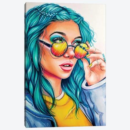 Rose Glasses Canvas Print #EDL39} by Kelly Edelman Canvas Art Print