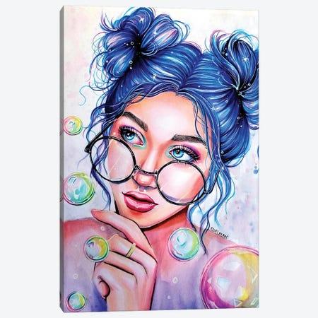 Bubbles Canvas Print #EDL3} by Kelly Edelman Canvas Print