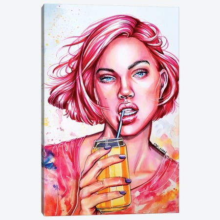 Soda Pop 3-Piece Canvas #EDL42} by Kelly Edelman Canvas Art
