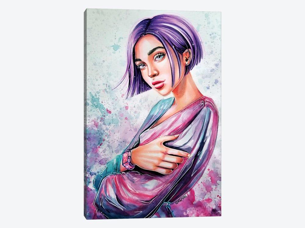 Soft Purple by Kelly Edelman 1-piece Canvas Art Print